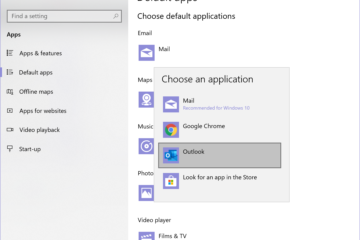 Choose Default Apps