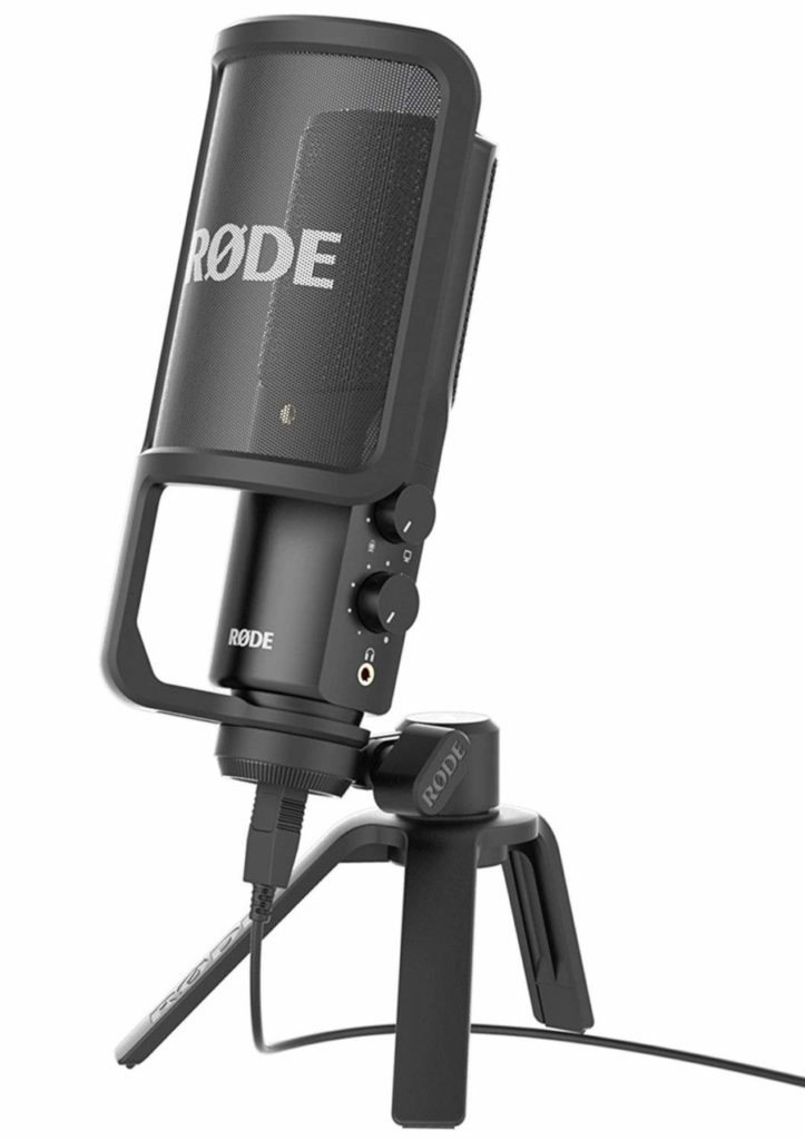 rode nt usb microphone for streaming